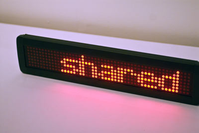 led display shared